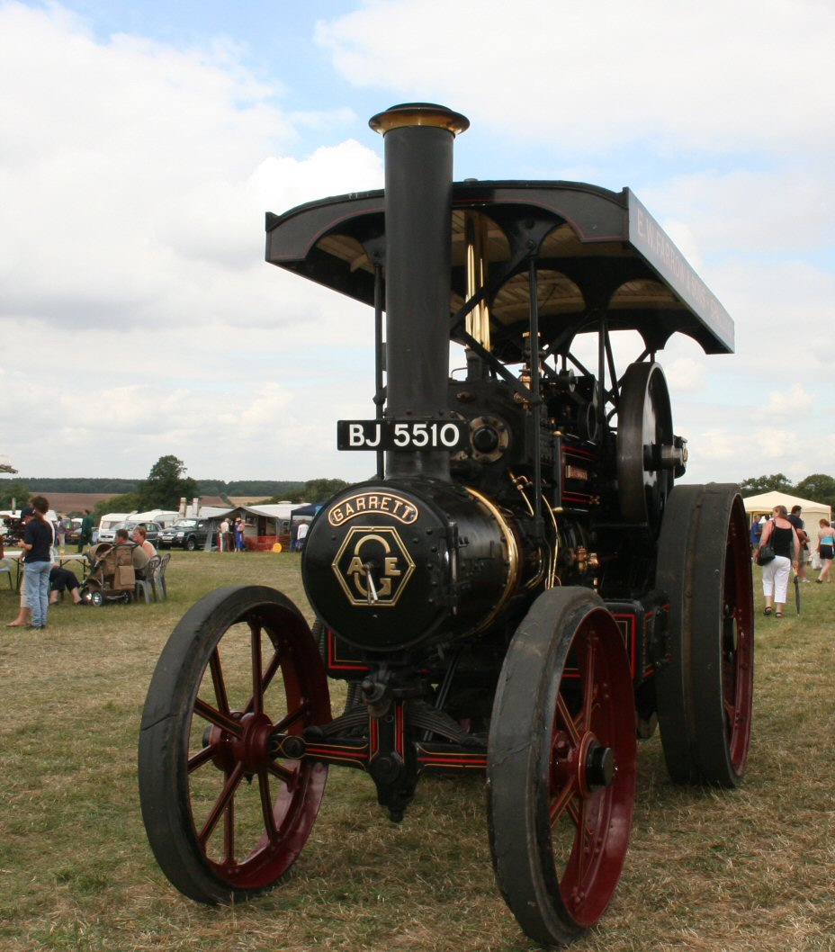 hp Garrett Steam Tractor