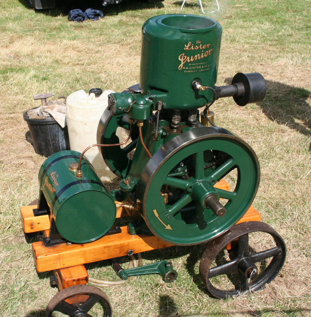 View topic lister junior for Stationary motors for sale