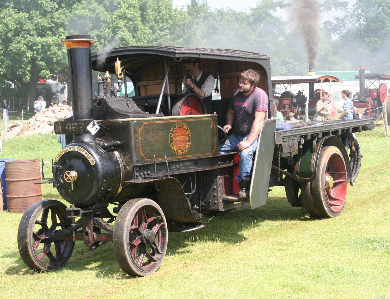 A 4 Ton Foden Steam Wagon