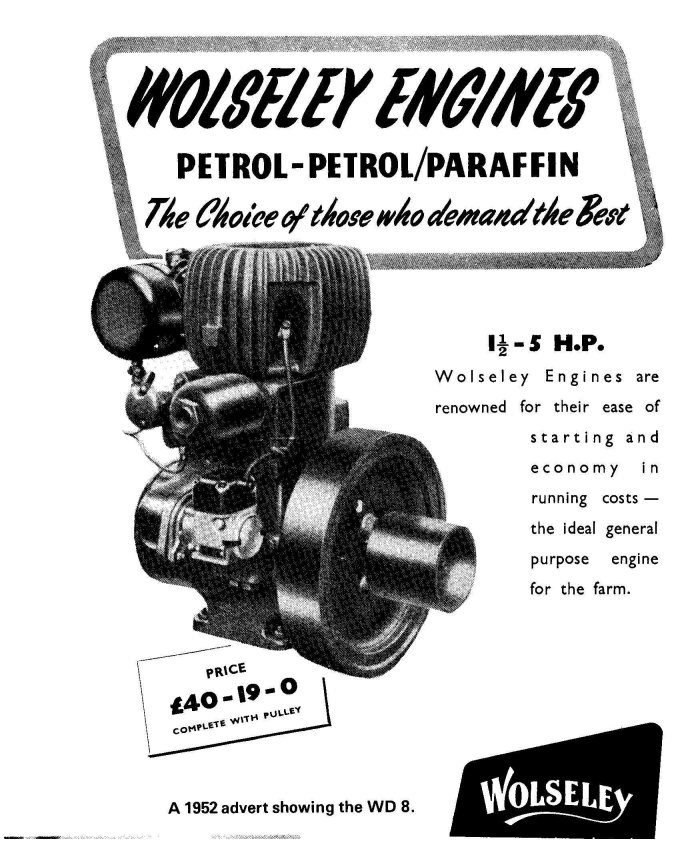 wolseley wd dating Wolseley generating set test run steamwally loading  the engine is a wolseley wd8 dating from 1950,  wolseley wd 1 driving a lister domestic water pump.